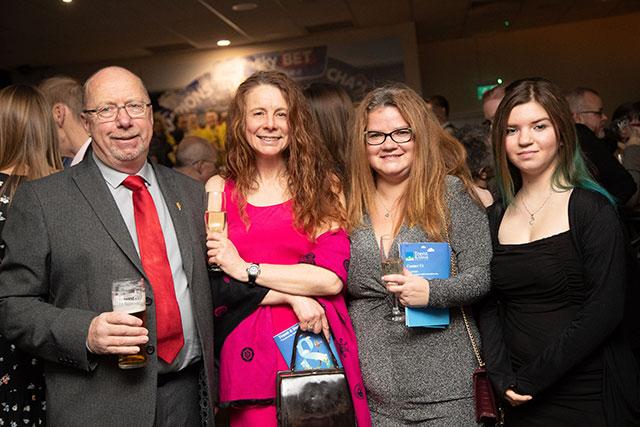 Marna at the Community Awards