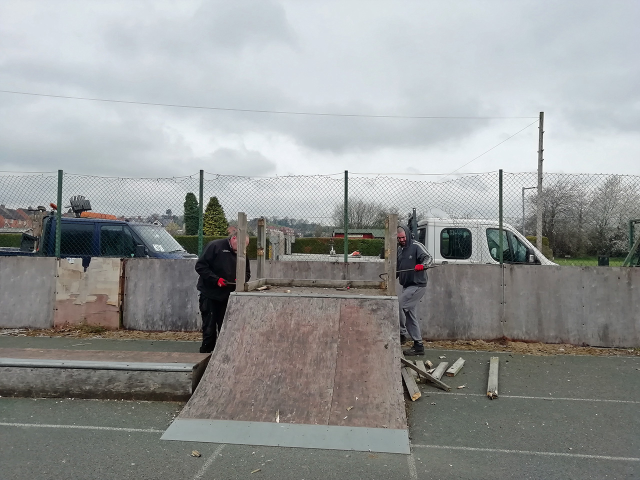 Mayfield skatepark renewal