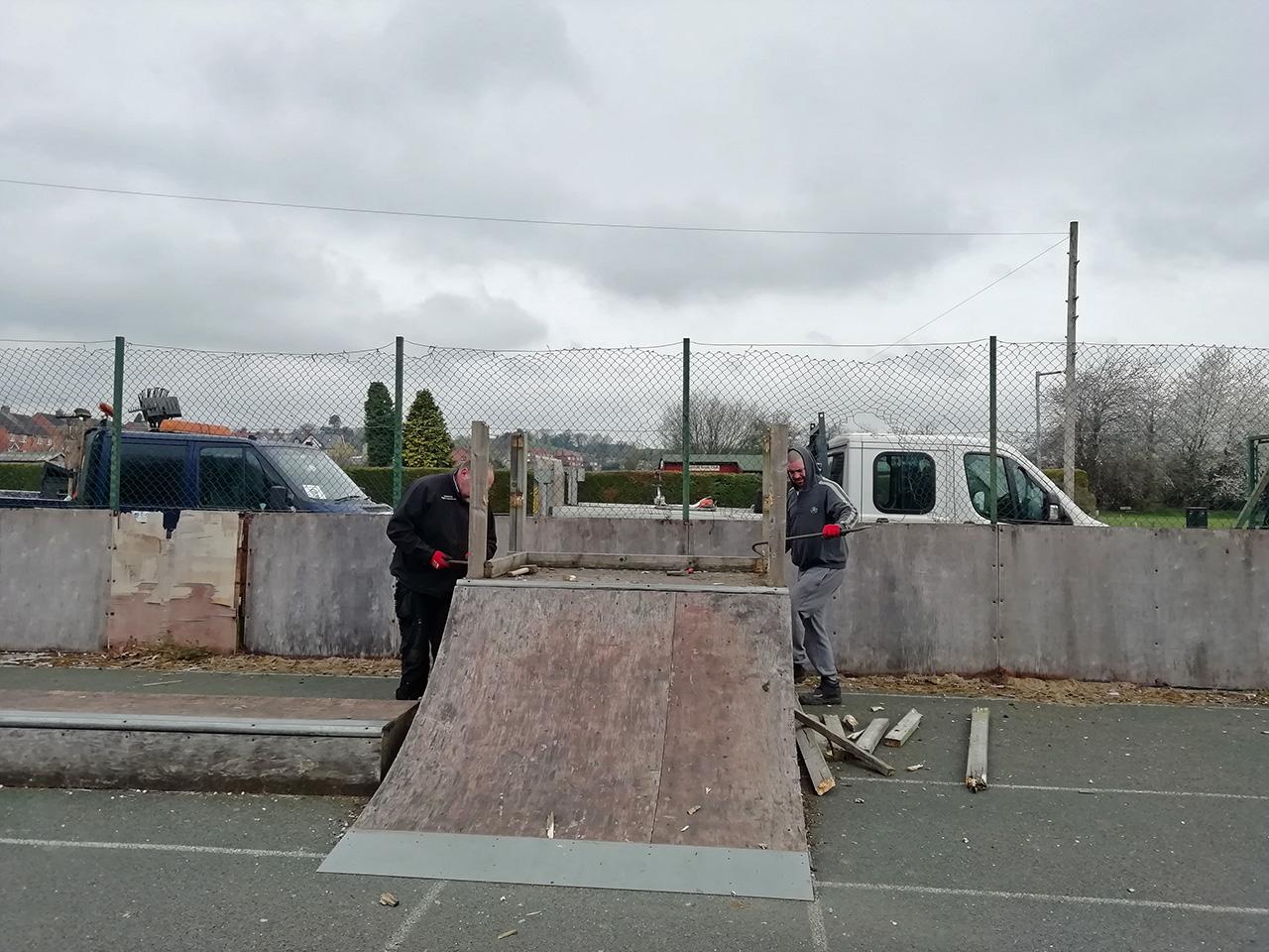 Mayfield skatepark renewal